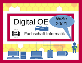 Logo Digitale OE Wintersemester 2020 der Fachschaft Informatik
