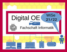 Logo Digitale OE der Fachschaft Informatik Wintersemester 2021/22