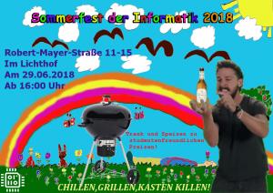 Sommerfest der Informatik 2018